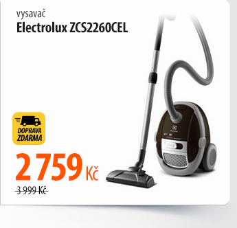 Vysavač Electrolux ZCS2260CEL
