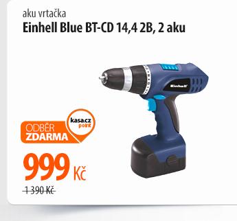 Aku vrtačka Einhell Blue BT-CD 14,4 2B, 2 aku