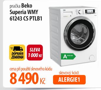 Pračka Beko Superia WMY 61243 CS PTLB1