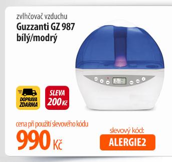 Zvlhčovač vzduchu Guzzanti GZ 987 bílý/modrý