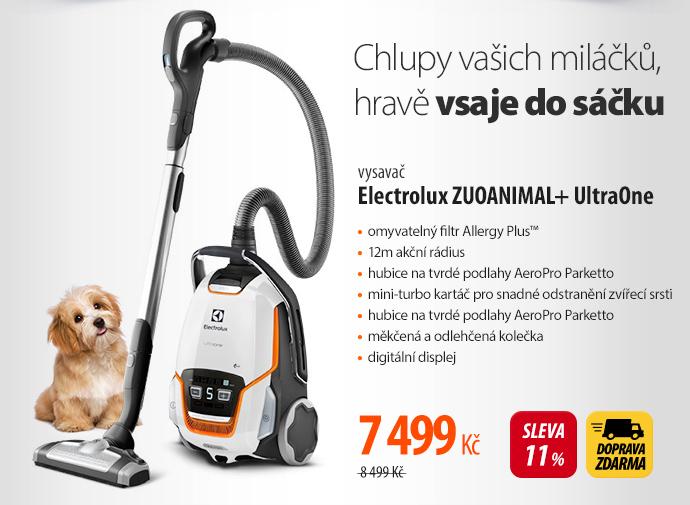 Vysavač Electrolux ZUOANIMAL+ UltraOne