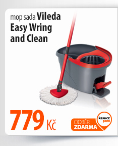 Mop sada Vileda Easy Wring and Clean (Easy Mocio set)
