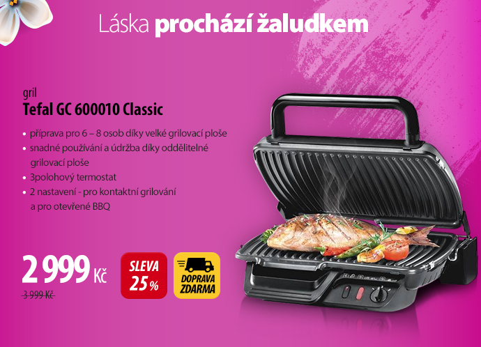 Gril Tefal GC 600010 Classic