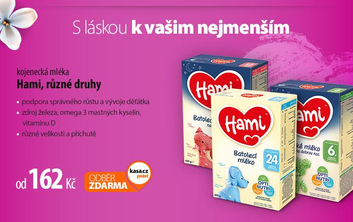 Hami kojenecká mléka