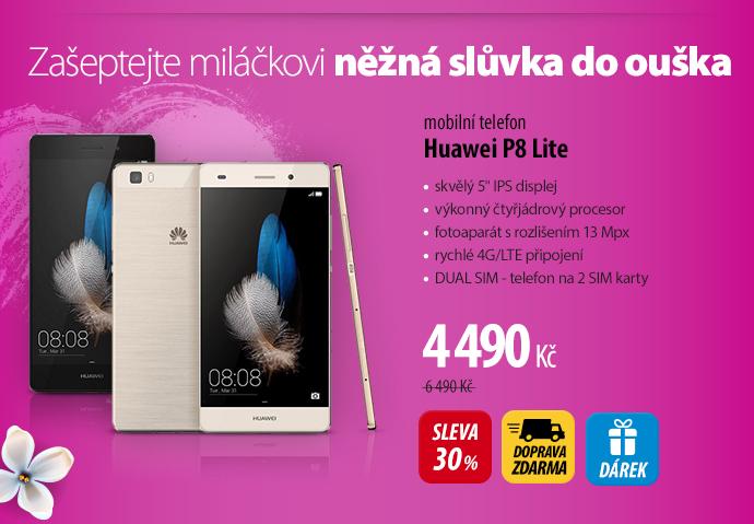 Mobilní telefon Huawei P8 Lite