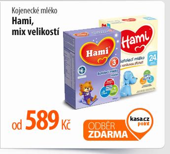 Kojenecké mléko Hami, mix velikostí