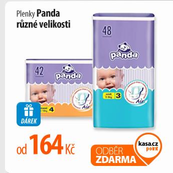 Plenky Panda, různé velikosti