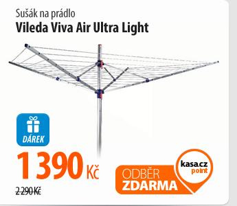 Sušák na prádlo Vileda Viva Air Ultra Light
