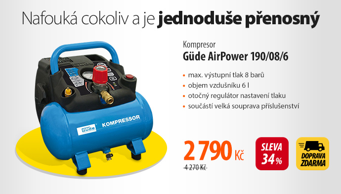 Kompresor Güde AirPower 190/08/6