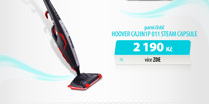 Parní čistič Hoover CA2IN1P 011 Steam capsule