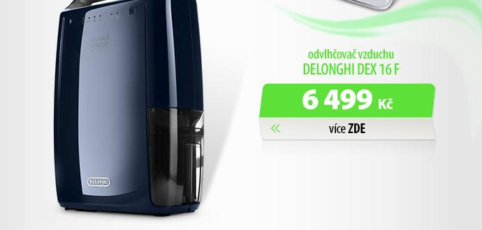 Odvlhčovač vzduchu DeLonghi DEX 16 F