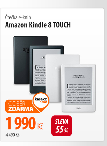 Čtečka e-knih Amazon Kindle 8 TOUCH