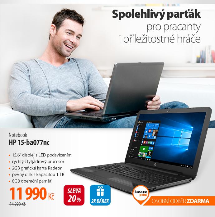 Notebook HP 15-ba077nc