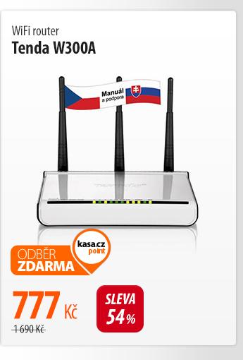 WiFi router Tenda W300A