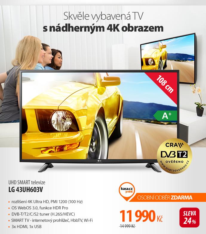 UHD SMART televize LG 43UH603V