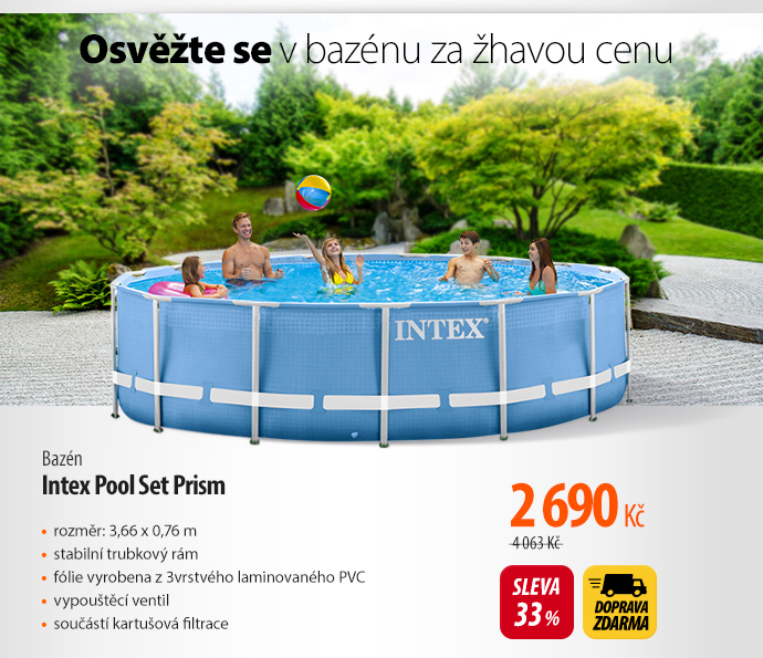 Bazén Intex Pool Set Prism