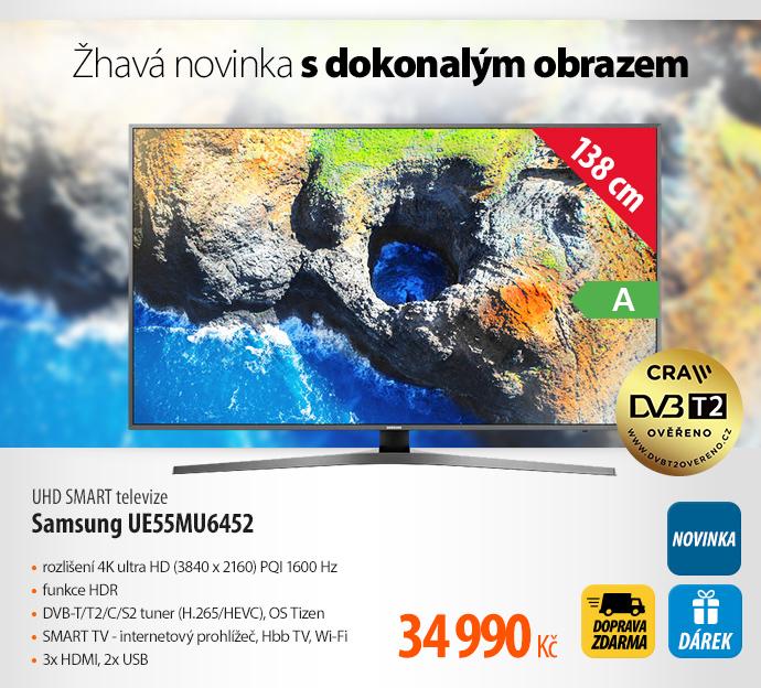 UHD SMART televize Samsung 55KU6452