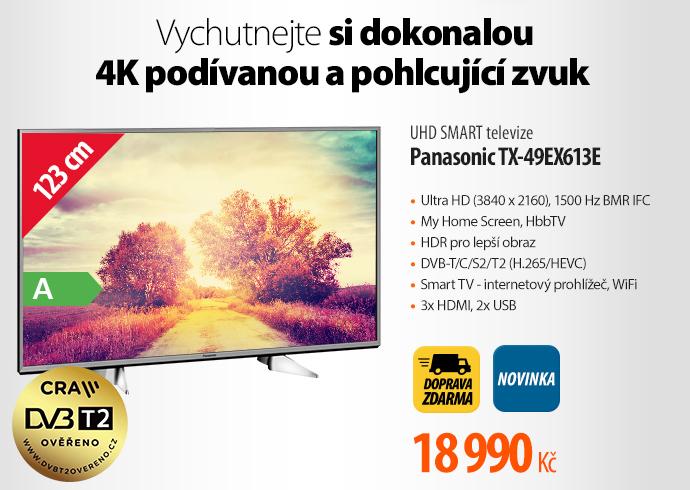 UHD SMART televize Panasonic TX-P49EX631E