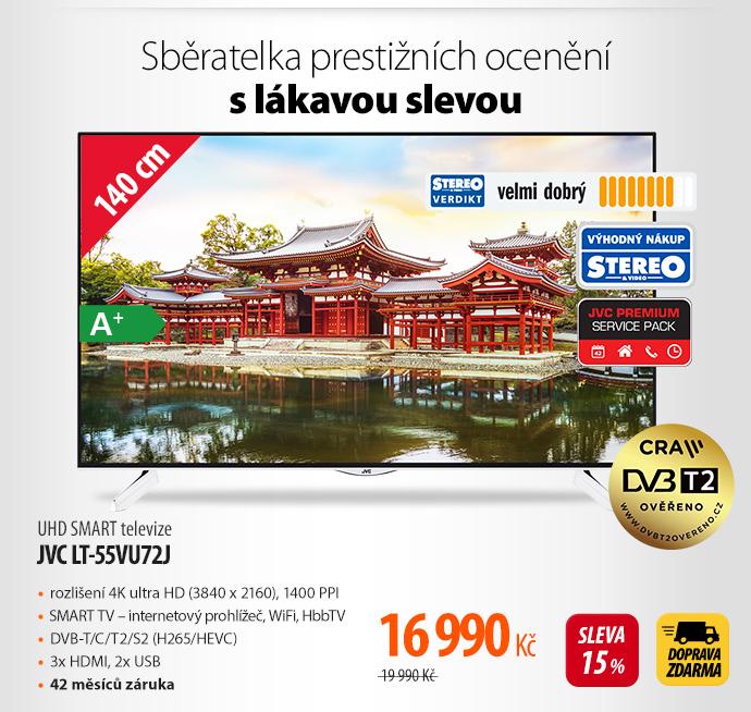 UHD televize JVC LT-55VU72J