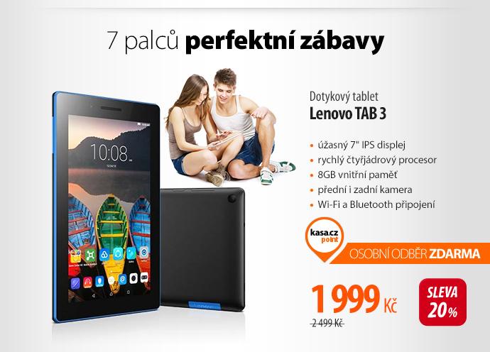 Dotykový tablet Lenovo TAB 3