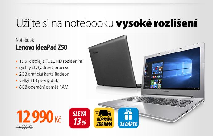 Notebook Lenovo IdeaPad Z50