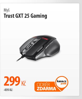 Myš Trust GXT 25 Gaming