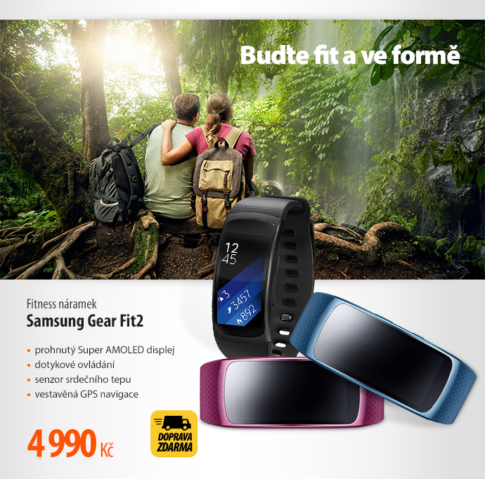 Fitness náramek Samsung Gear Fit2