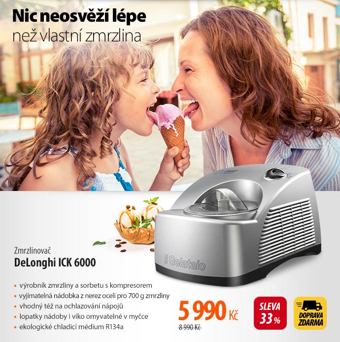 Zmrzlinovač DeLonghi ICK 6000