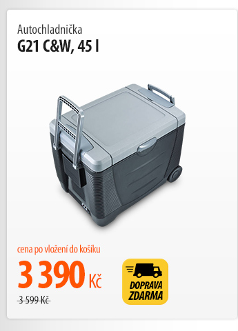 Autochladnička G21 C&W, 45 l