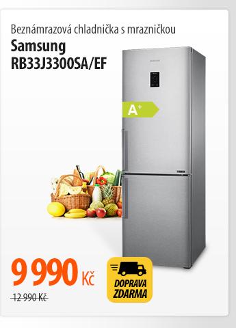 Beznámrazová chladnička s mrazničkou Samsung RB33J3300SA/EF