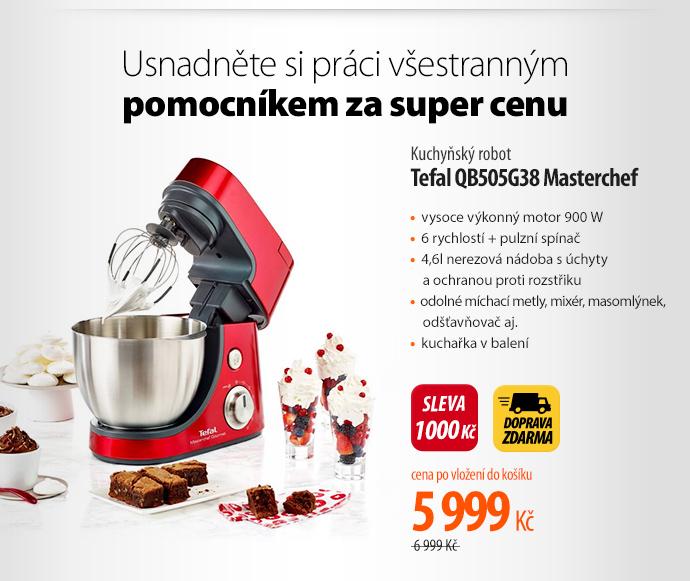 Kuchyňský robot Tefal QB505G38 Masterchef