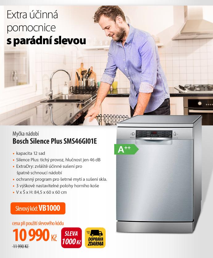 Myčka nádobí Bosch Silence Plus SMS46GI01E