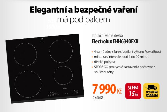 Indukční varná deska Electrolux EHH6340FXK