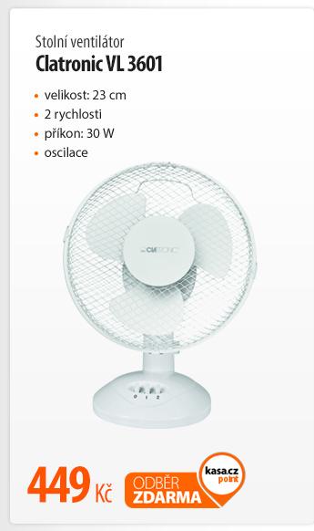 Ventilátor stolní Clatronic VL 3601