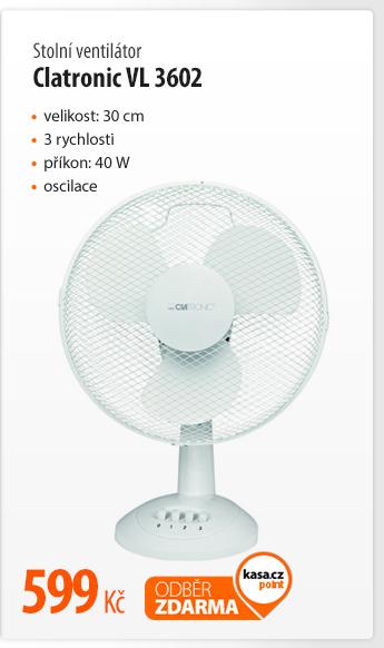 Ventilátor stolní Clatronic VL 3602