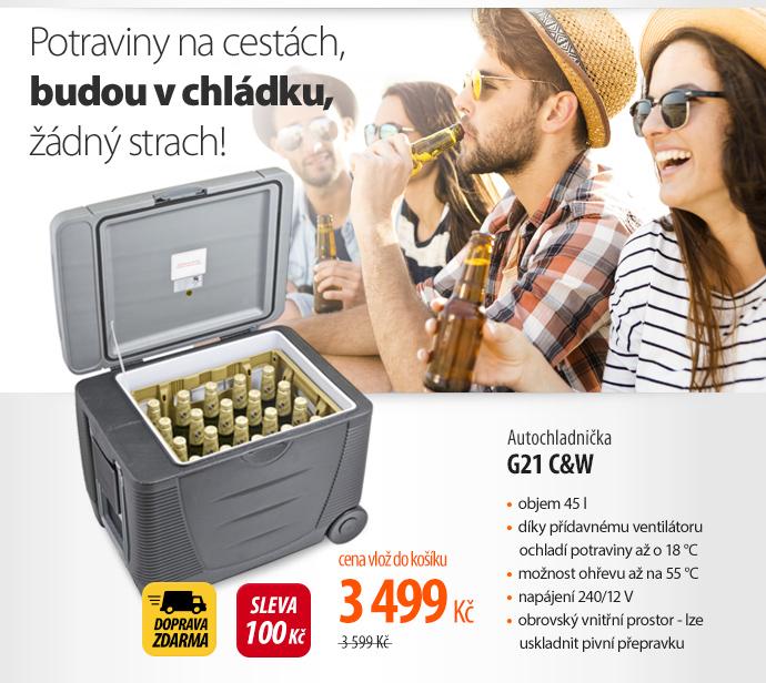 Autochladnička G21 C&W