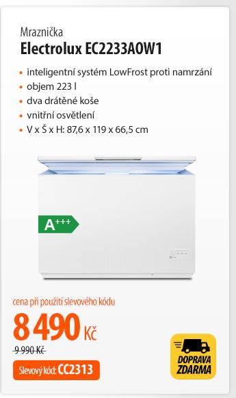 Mraznička Electrolux EC2233AOW1