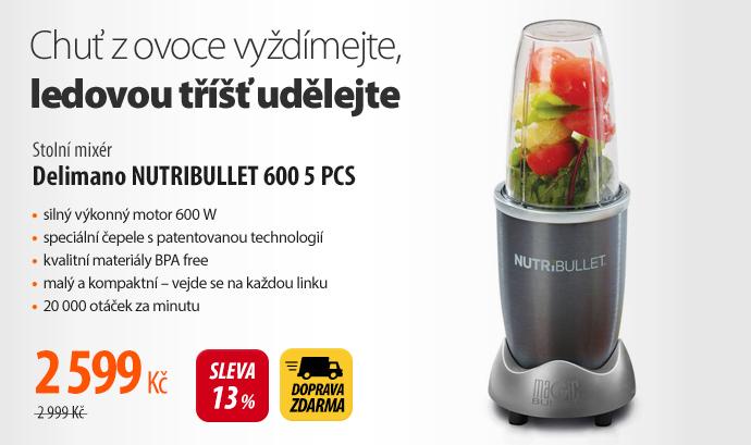 Stolní mixér Delimano NUTRIBULLET 600 5 PCS