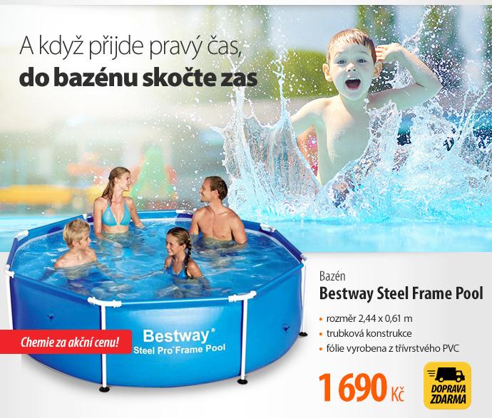 Bazén Bestway Steel Frame Pool