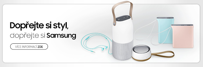 Příslušenství Samsung: designové kousky, co mají styl!