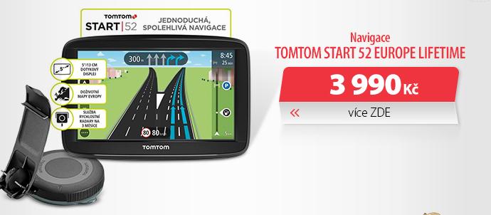 Navigace TomTom START 52 Europe LIFETIME