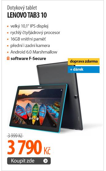 Dotykový tablet Lenovo TAB3 10