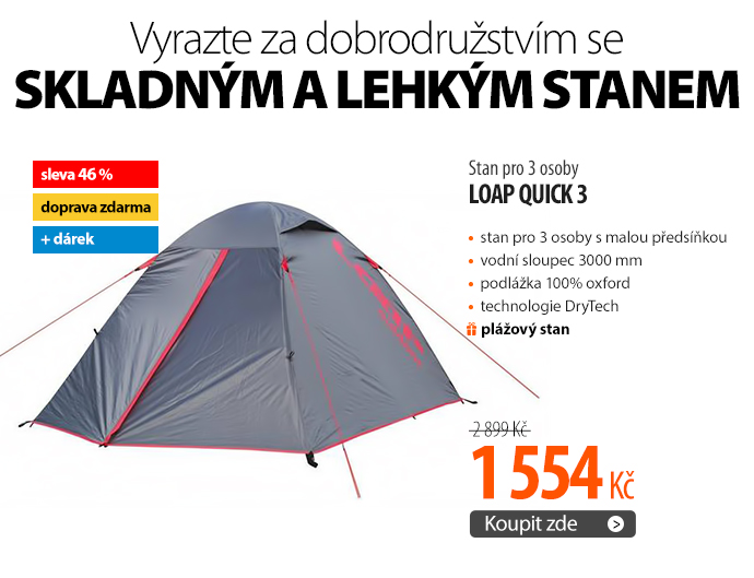 Stan Loap QUICK 3 pro 3 osoby