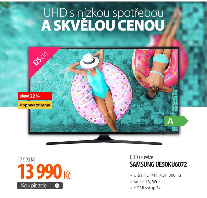 UHD televize Samsung UE50KU6072