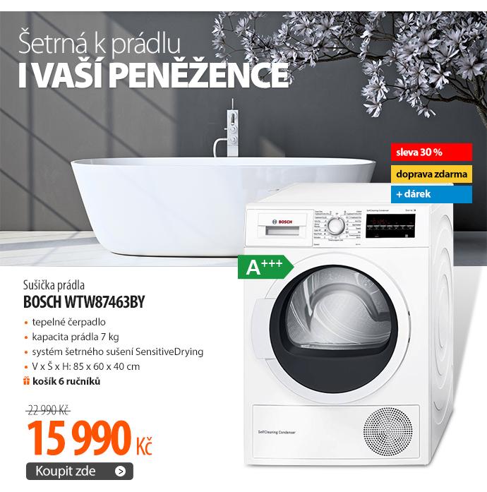Sušička prádla Bosch WTW87463BY