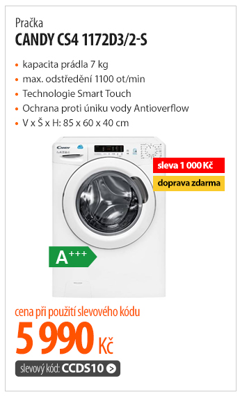 Pračka Candy CS4 1172D3/2-S