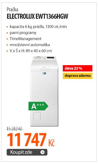 Pračka Electrolux EWT1366HGW