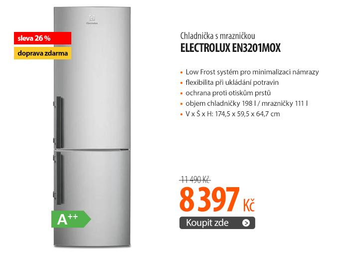 Chladnička s mrazničkou Electrolux EN3201MOX