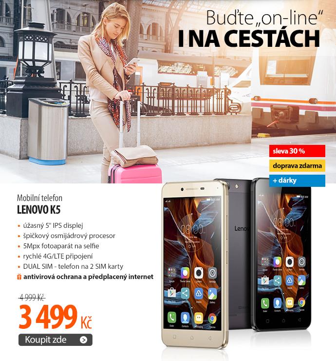 Mobilní telefon Lenovo K5