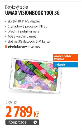 Dotykový tablet Umax VisionBook 10Qi 3G